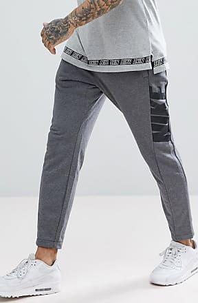 Nike Hybrid - Grå mjukisbyxor med avsmalnande ben 885947-071 - Grå 409eab8e3a306