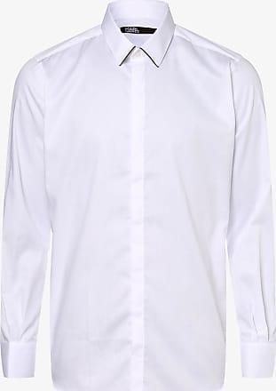Karl Lagerfeld Herren Hemd weiss