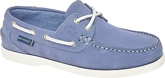 Quayside Unisex Adults Bermuda Cayman Boat Shoes, Blue (Blue Bluebell 001), 7 (41 EU)