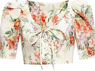 Zimmermann Floral Motif Top Womens Multicolour