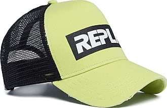Replay Mens Am4221.000.a0387 Baseball Cap, Multicolour (Light Lime Green 389), One (Size: UNIC)