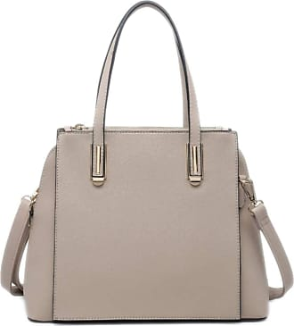 Girly HandBags Girly HandBags Womens Simple Top Handle Bag - Apricot