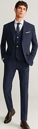 Mango Slim fit suit gilet