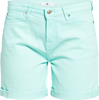 7 For All Mankind Jeans-Shorts BOY - COLORED COMFORT STRETCH LIGHT BLUE