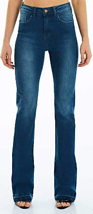 M.Officer CALÇA JEANS BOOT CUT C4 BLUE WASH Mofficer