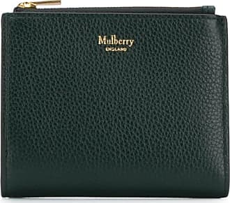 Mulberry compact logo wallet - Verde