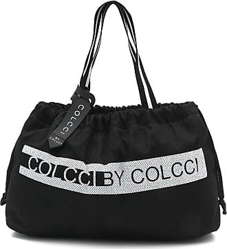 Colcci Fitness Bolsa Colcci Fitness Lettering Preta