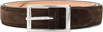 Scarosso Cinto com fivela quadrada - Marrom