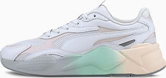 Puma Rs-X Gradient Womens Trainers, White/Rosewater, size 3.5, Shoes