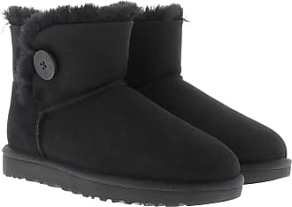 UGG Boots & Booties - W Mini Bailey Button II Black - black - Boots & Booties for ladies