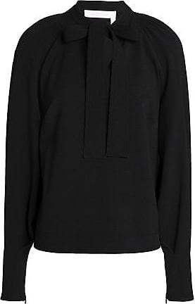 See By Chloé See By Chloé Woman Crepe Blouse Black Size 36