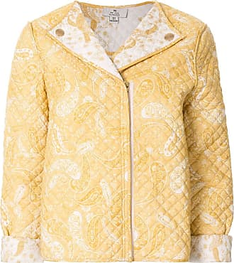 We Are Kindred Gesteppte Jacke mit Paisley-Print - Gelb