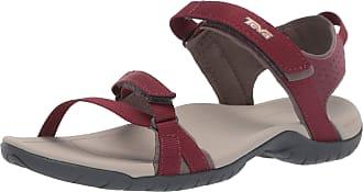 Teva Womens Verra-W Ankle-Strap Red Size: 7 UK
