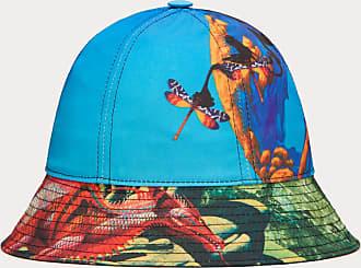 Valentino Garavani Valentino Garavani Uomo Cappello Bucket Red Dragon - Yes F&r In Nylon Uomo Azzurro Poliestere 100% 57