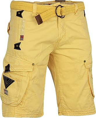 Geographical Norway Shorts Clothing Geographical Norway Men short Pants Yellow XL