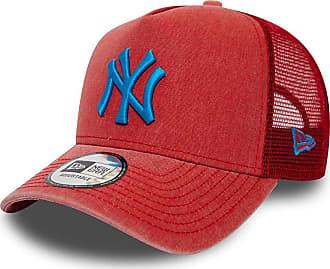 New Era 9FO AF Washed MLB Trucker New York Yankees - Scarlet/Coral Blue - Men´s
