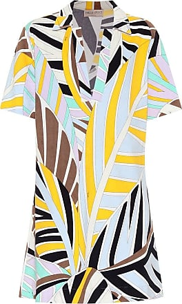 Emilio Pucci Printed cotton-blend minidress