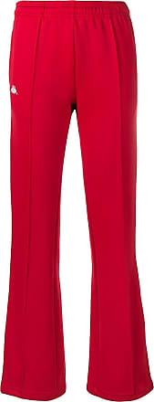 Kappa track style trousers - Red