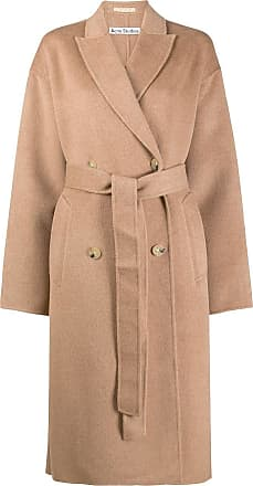 Acne Studios belted double-breasted coat - Neutrals