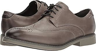Rockport Mens Classic Break Wing Tip Oxford, Timber, 7 M US
