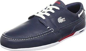 Lacoste Mens Dreyfus Boat Shoe,Dark Blue/White,11 M US