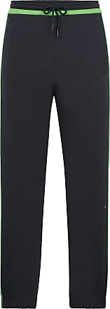 BOSS Slim-fit jogging bottoms with contrast trims