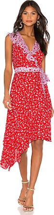Parker Jennifer Combo Dress in Red