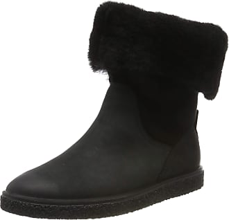 Ecco Womens Crepetray W Ankle Boots, Black (Black/Black 51052), 8/8.5 UK