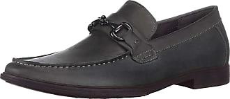 Kenneth Cole Reaction Mens Debate Slip ON Loafer, Dark Grey, 10.5 UK