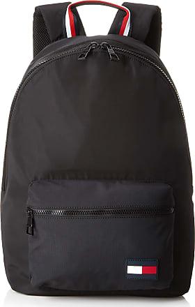 e2b972e9c Tommy Hilfiger Backpack Sports Tape, Mens Backpack, Black, 15x43x30 cm (B x