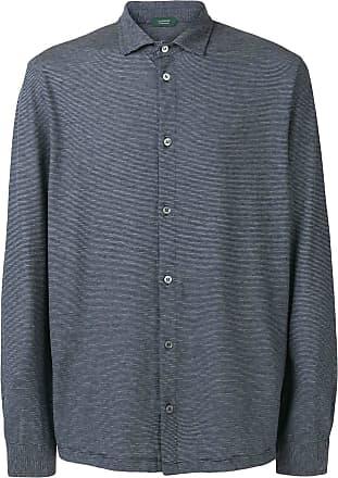 Zanone Camisa clássica - Azul