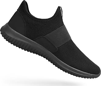 Zocavia Womens Shoes Breathable Sneakers Casual Mesh Walking Shoes,Black/5.5 UK