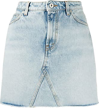 HPC Trading Co. high-rise skirt - Blue