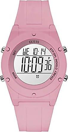 Guess Relógio Guess Feminino Rosa 92761l0gtnp2 Digital 3 Atm Cristal Mineral Tamanho Grande