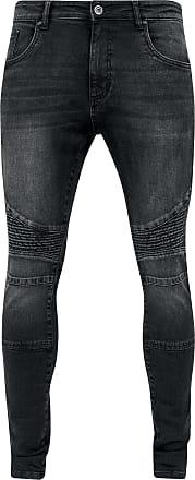 Urban Classics Slim Fit Biker Jeans - Jeans - schwarz