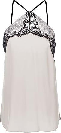 Kiki De Montparnasse silk and lace camisole - NEUTRALS
