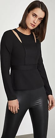 BCBGeneration Cutout Peplum Top