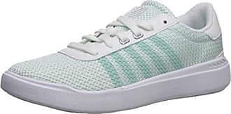 K-Swiss Womens Heritage Light T Sneaker, Soothing sea/White, 5.5 M US