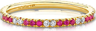 The Last Line Diamond And Ruby Eternity Band