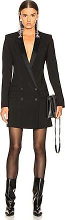 Haider Ackermann Double Breasted Blazer Dress in Black