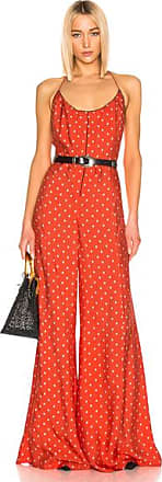 Alexis Holland Jumpsuit in Abstract,Red