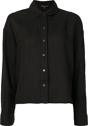 James Perse linen boxy shirt - Black