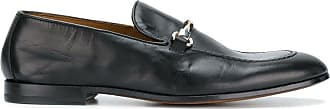 Doucal's horsebit front loafers - Preto
