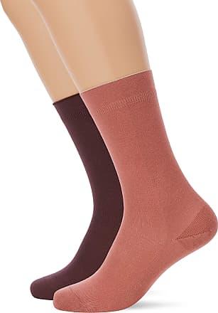 fa87b62ea Dim Dim Womens Mi-chaussette Modal X2 Calf Socks