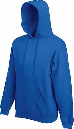 Fruit Of The Loom Mens Premium Hooded Sweatshirt Royal