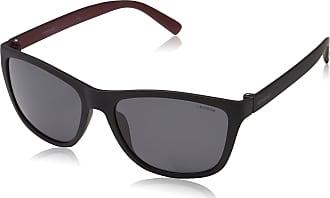 Polaroid Mens PLD 3011/S Y2 LLQ Sunglasses, Matte Black Dark Red/Grey Pz, 57