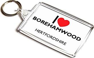ILoveGifts KEYRING - I Love Borehamwood - Hertfordshire