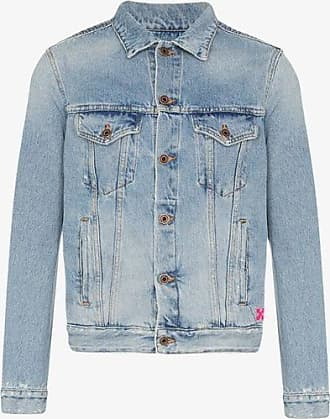 de17f8be9 Off-white® Denim Jackets: Must-Haves on Sale up to −70% | Stylight
