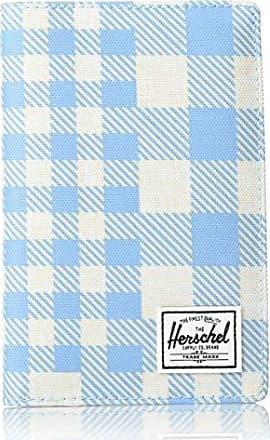 Herschel Supply Co. Mens Search RFID, gingham alaskan blue One Size