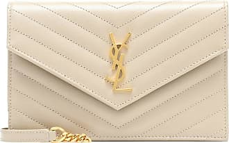 Saint Laurent Clutch portafoglio Envelope Small in pelle